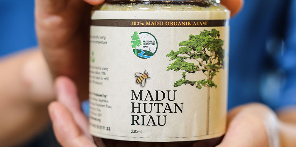 Madu Hutan Riau Natural and Organic Honey