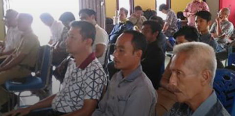 Conflict Potential and Resolution Workshop in Teluk Meranti Sub-District